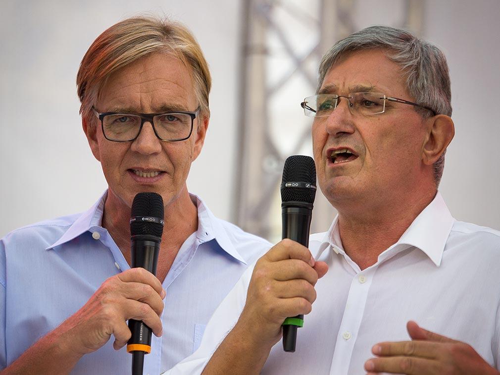 Dietmar Bartsch & Bernd Riexinger